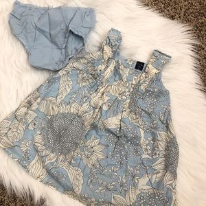 Baby gap girls dress with bloomers